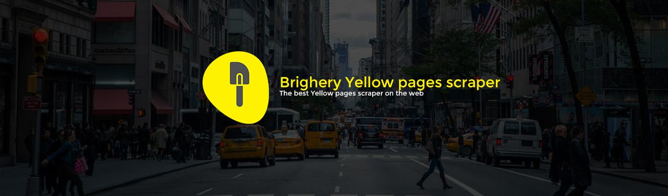 Brightery Yellow Pages Scraper