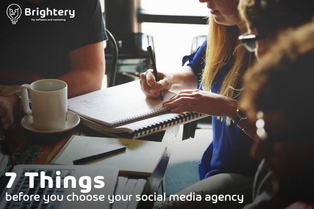social media management company - brightery