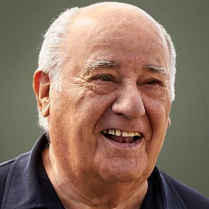 Amancio Ortega - The Richest people in the world