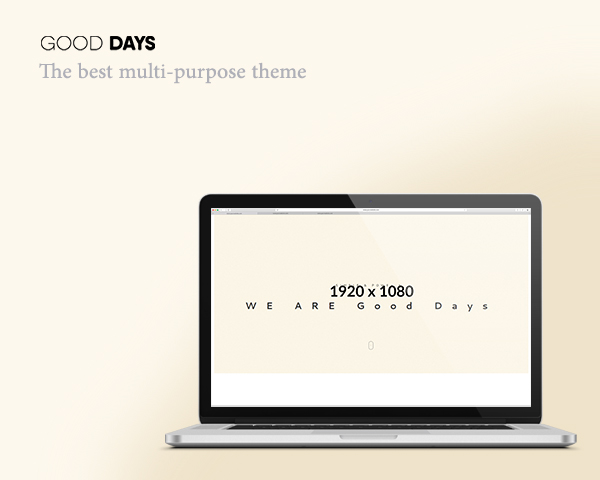 Good Days- Free HTML5 template