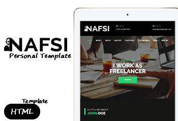 Nafsi personal template