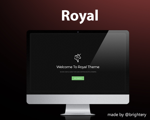 Royal - Free HTML5 template