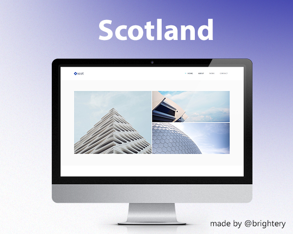 Scotland - Free HTML5 template